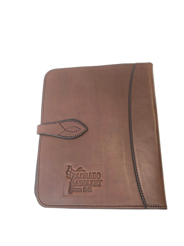 Colorado Saddlery Handmade Leather Bible or Notebook Cover