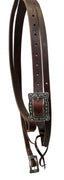 "Pro Series 1 5/8"" Old World Heavy Harness Slit Ear Headstall"