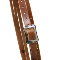 "Pro Series 1 5/8"" Extra Heavy Harness Slit Ear Headstall with Outline Hardware"