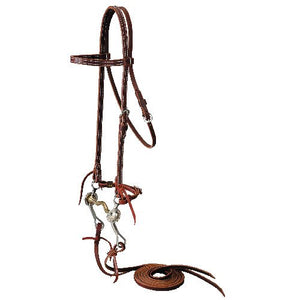 Browband Bridle w/ Missoula Bit
