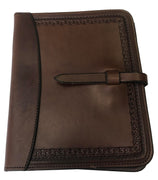 Handmade Leather Bible or Notebook Cover- Multiple Styles and Oils