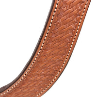 Basket Stamped Martingale Breast Collar