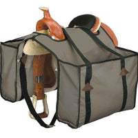 Heavy Canvas Saddle Panniers