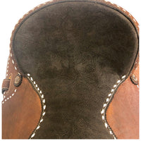 Buckstitched Barrel Saddle