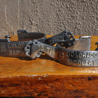 Colorado Saddlery Collectable Anniversary Spurs