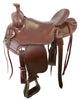 Idaho Association Saddle with matching breast collar