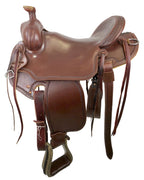 Idaho Association Saddle