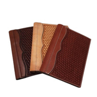 Small Leather Notebook Covers- Multiple Styles & Oils