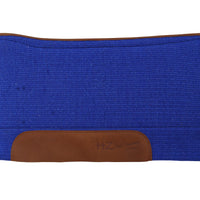 Spine Relief Woven Blanket Saddle Pad with Wool Bottom- ASSORTED COLORS