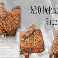 WYO Deluxe Team Roper Saddle