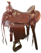 The Buckskin Saddle