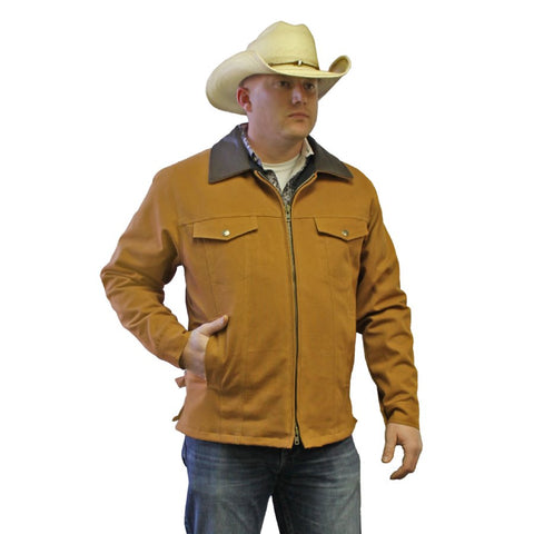 Desert Tan Concealed Carry Coat