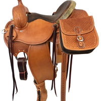International Mountain Trail Competition Saddle with Saddle Bags