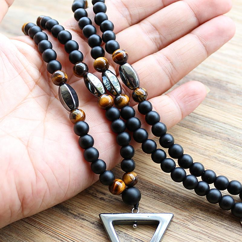 b38021a20bf9 Pure Hematite Mindfulness Necklace - Reclaiming Zen