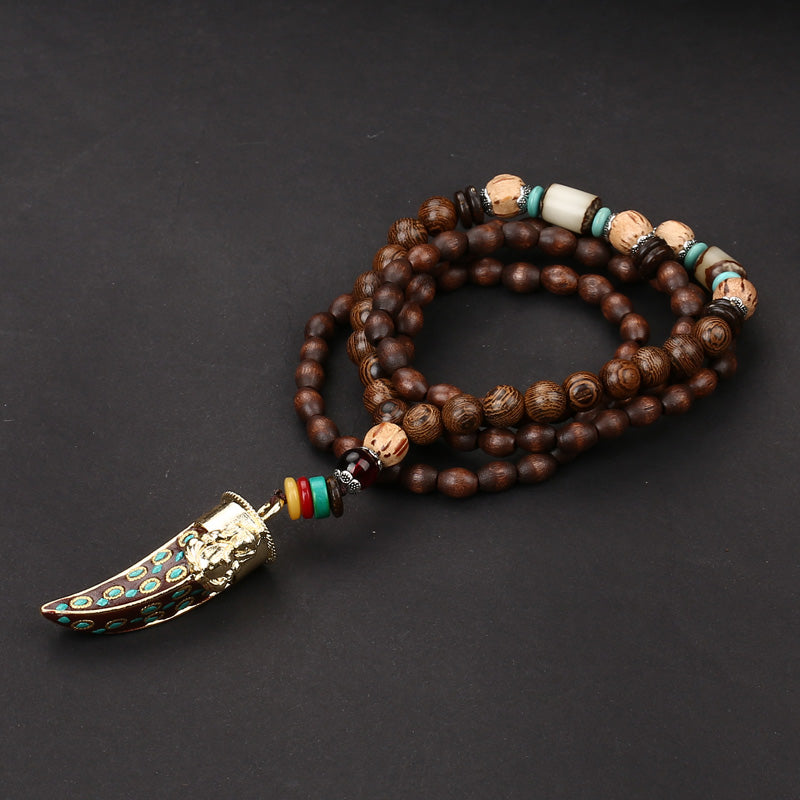 2b2cdb074bdb ... Beaded Handmade Nepalese Necklaces - 9 Styles Available - Reclaiming Zen  ...
