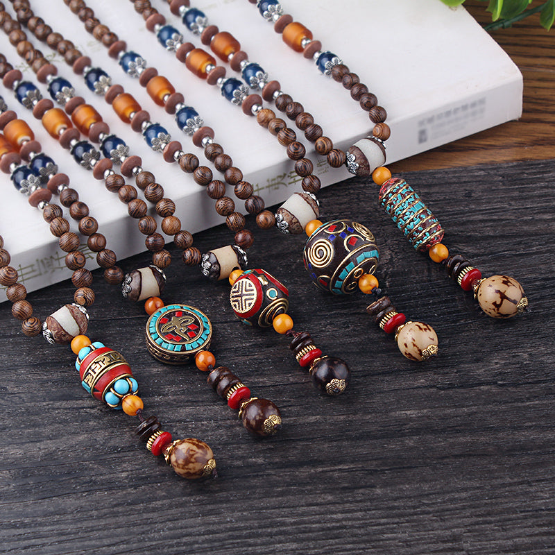 acee33f39264 Handmade Nepalese Bead Necklaces - 5 Styles Available - Reclaiming Zen