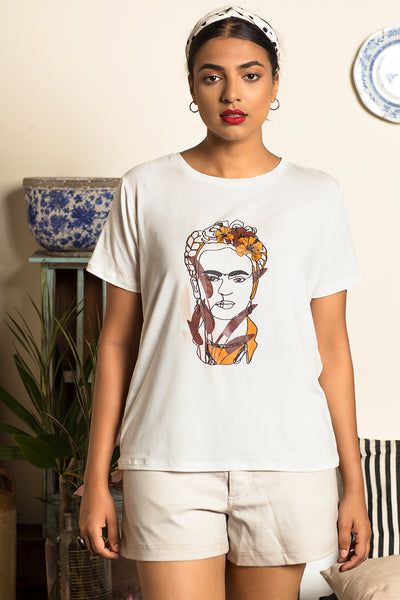 Frida Summer Printed Tee