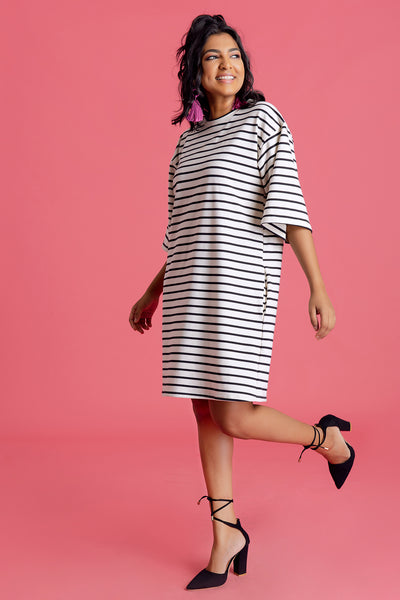 Over-sized T-shirt Dress