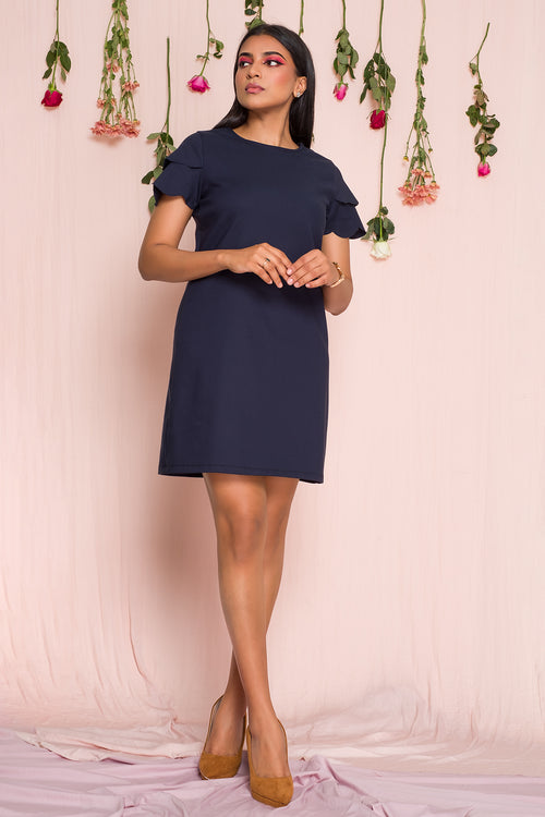 Kalia Scallop Dress