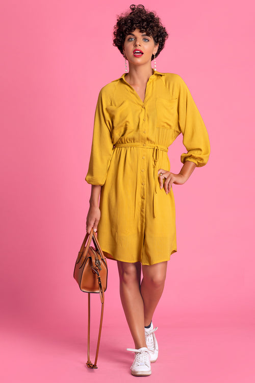 Batwing Shirt Dress