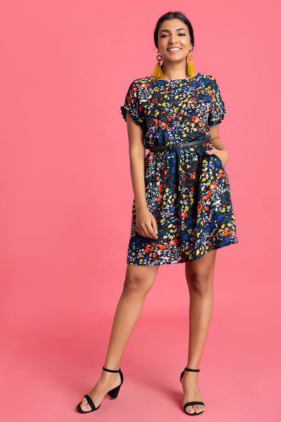 Easy Printed Dress