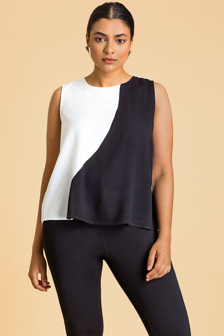 Side Tied Up Sleeveless Top