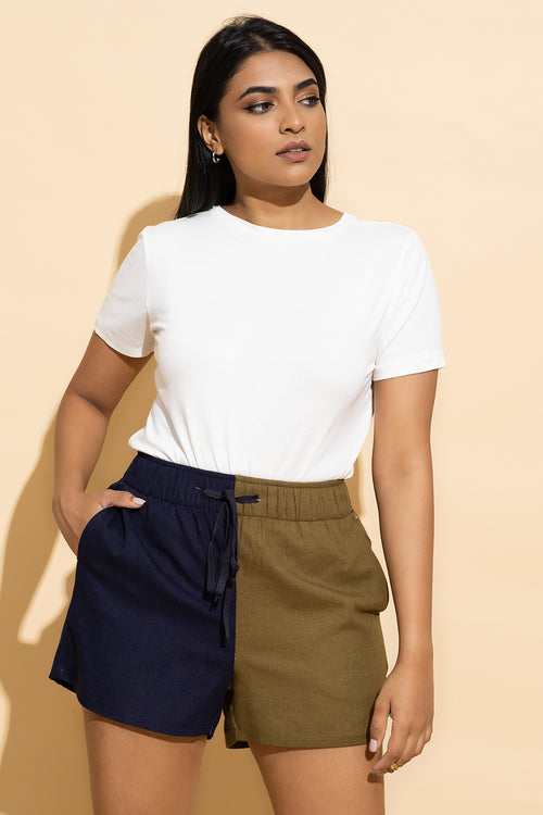 Two Tone Short