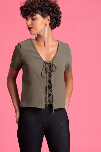 Criss Cross Front Top
