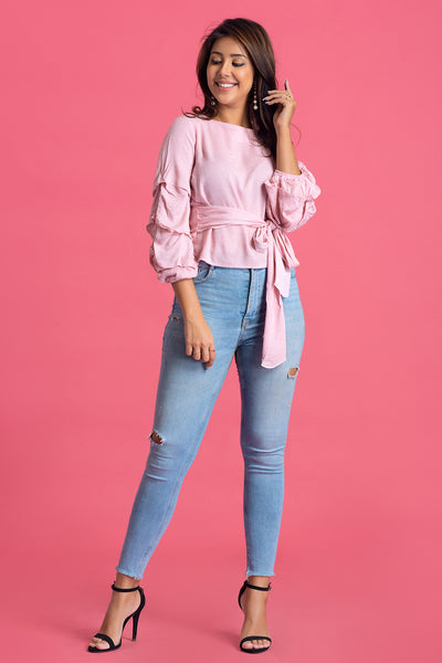 Baloon Sleeve Top