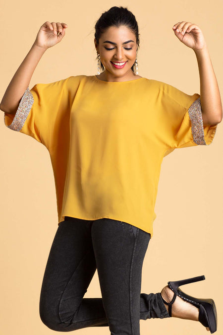 Boxy Work Wear Top