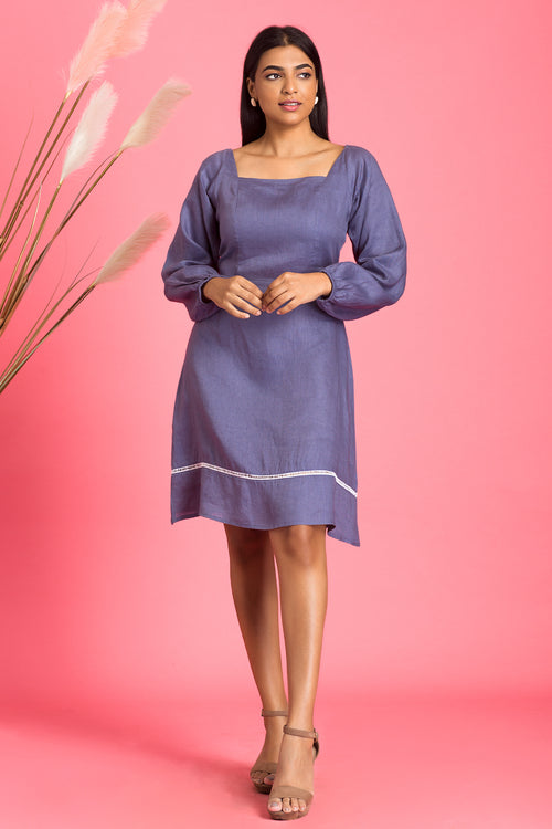 Nella Puff Sleeve Dress