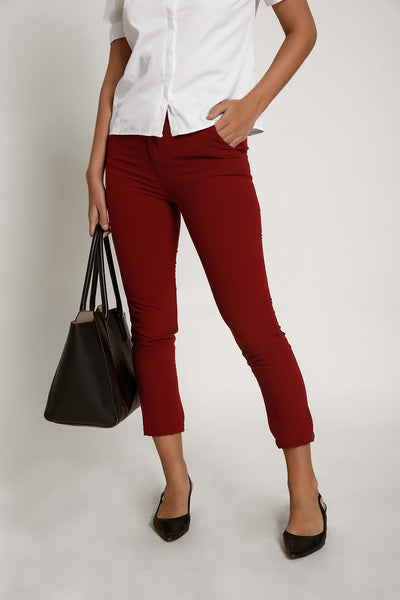 Mid Rise Work Wear Pant R1