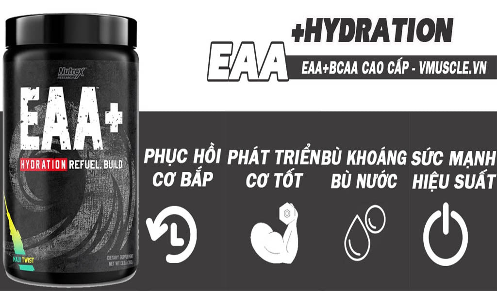 Cach dung EAA Hydration