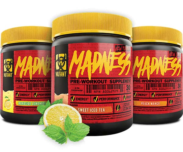 MUTANT PRE-WORKOUT MADNESS-225g