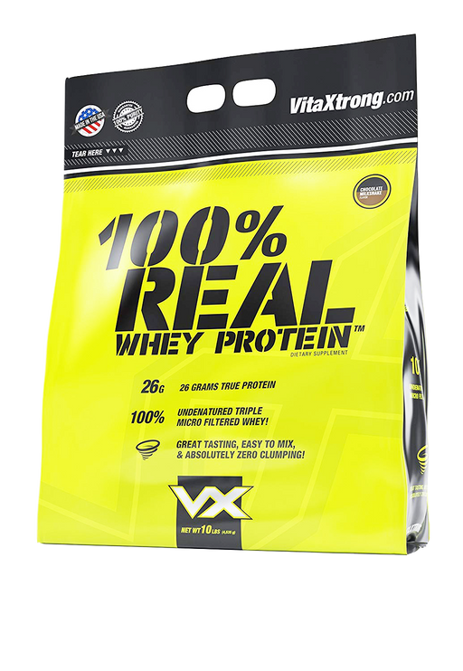 100% Real Whey Protein VitaXtrong 10lbs