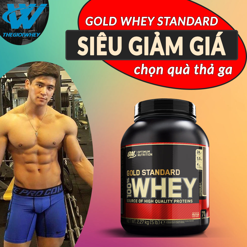100% Whey Gold Standard 5lbs (2.3kg)