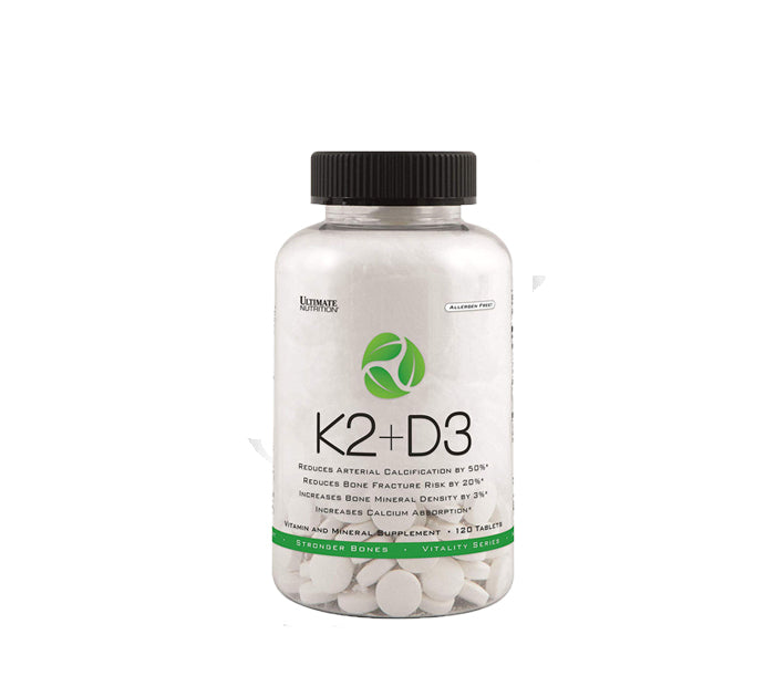 Ultimate Vitamin D3 + K2 MK7 120 viên
