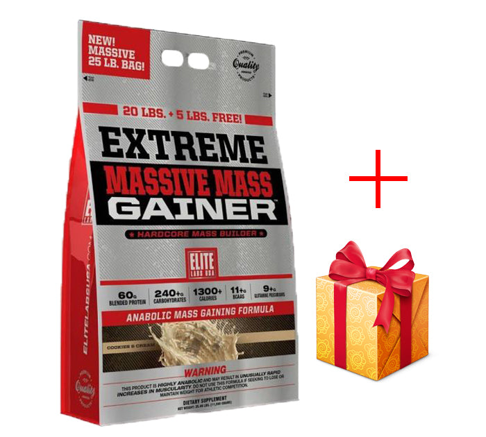 Elite Extreme Massive Mass Gainer 25Lbs