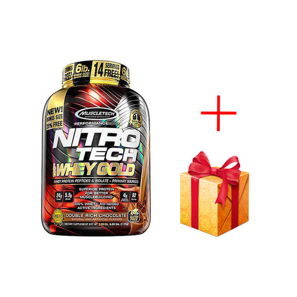 NitroTech Gold Whey 5.5Lbs