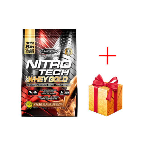 NitroTech Gold Whey 8Lbs