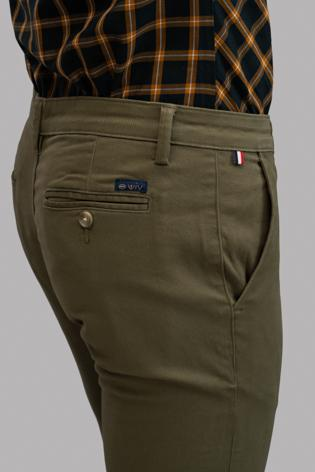 Plain Twill Trousers (olive)