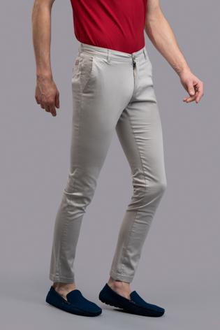 Rock Wood Trousers (Stone Grey)