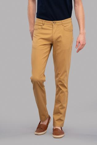 Atras Satin Trousers (G.Khaki)
