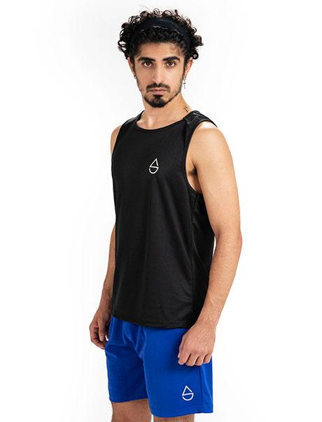 Black  Influx Muscle Tank