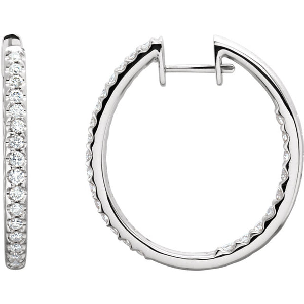 Diamond Hoops - ROCKED by Rob G