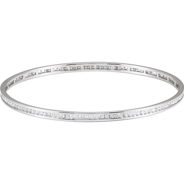 Stackable Diamond Bangle - ROCKED by Rob G