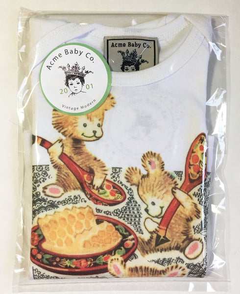 Honey Bears Organic Baby Shirt