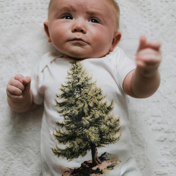 Pine Tree Organic Infant Shirt