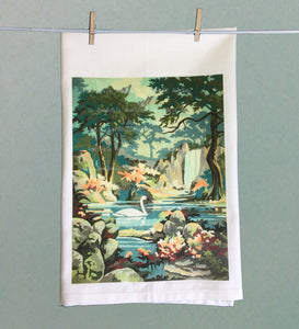 Lake Swan Tea Towel