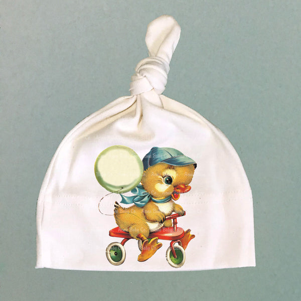 Tricycle Duckling Organic Cotton Baby Knit Cap